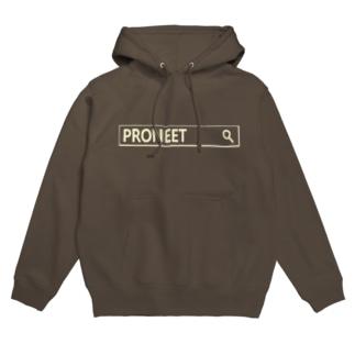PRONEETで検索 黒 Hoodies