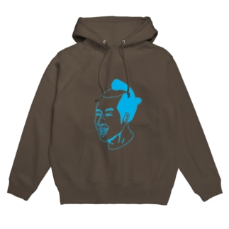 KAISAMURAI01BLUE Hoodies