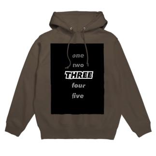 THREE Hoodies