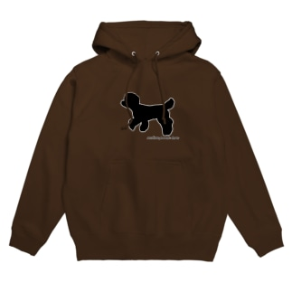 アフロ犬 フーディ