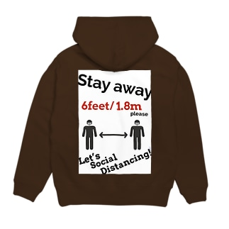 Let's Social Distancing!!! Hoodies
