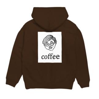 COFFEE MAN Hoodies