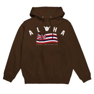 Aloha Flag Hoodies