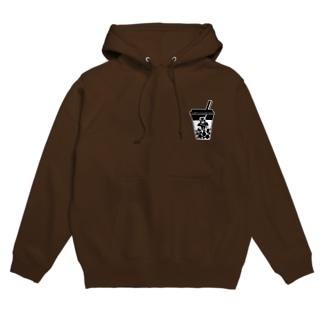 Goth Tea Shopパーカー(両面プリント) Hoodies