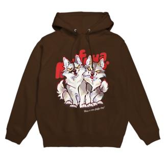 WOLF BROS(dark colors) Hoodies