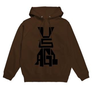 USAGI / 兎 Hoodies
