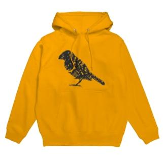 ペンタッチ 鳥 Hoodies