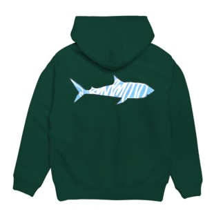 DGPGのBlue shark Hoodies
