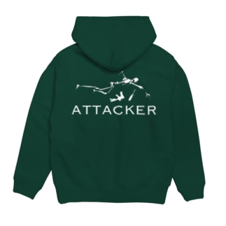 AIRSOFTER 【ATTACKER】 Hoodies