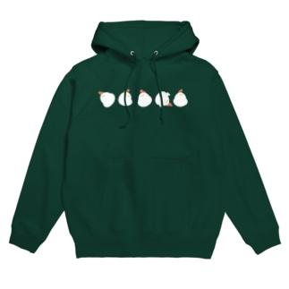 コロコロ鳥 Hoodies