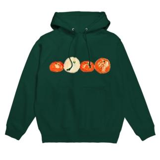 冬の柑橘 Hoodies