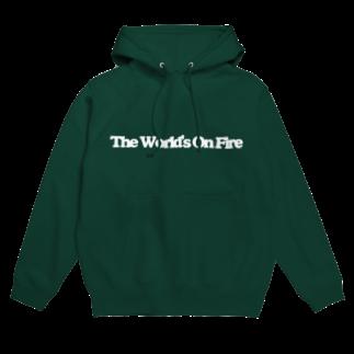くらげのThe World's On Fire パーカー Hoodies