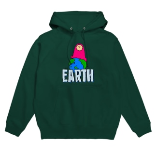 EARTH - チキュウ Hoodies