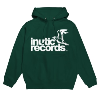 inutic records(濃い色用) Hoodies