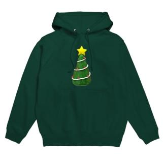 メリークリスマス Hoodies
