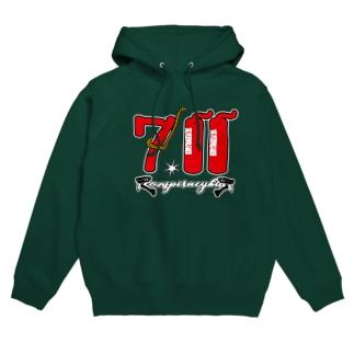 ゲリラコレクション「711」Tシャツ Hoodies