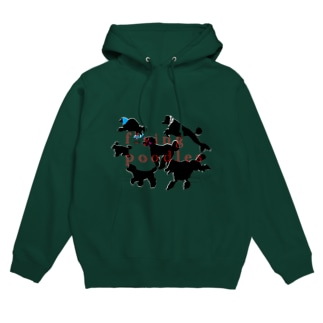 flying poodles Hoodies