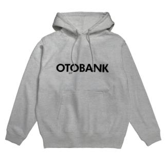 OTOBANKのグッズ@black フーディ