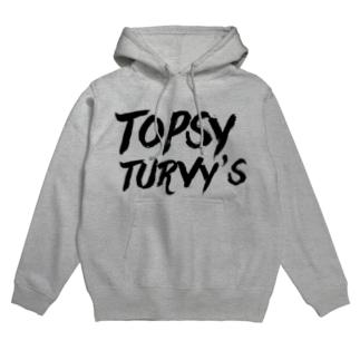 Topsy Turvy'sロゴ フーディ