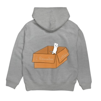 段ボールねこ(Do you remember?) Hoodies