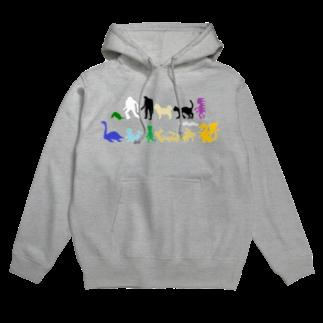 jaguchi4mのパラレルワールドの十二支(カラー) Hoodies