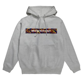 wake up face up Hoodies