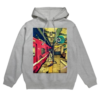 Genetic train Hoodies
