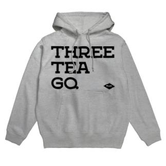 THREE TEA GO.&WARD #2 Hoodies