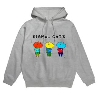 SIGNAL CAT'S Hoodies
