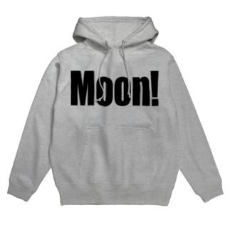 Moon! Hoodies