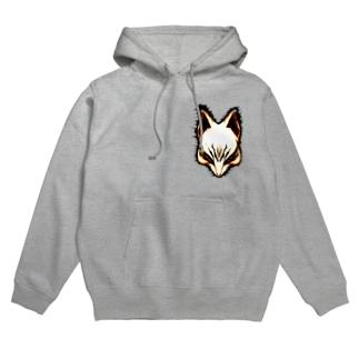 狐面 Hoodies