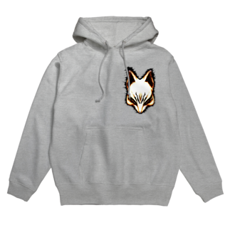 toy.the.monsters!の狐面 Hoodies