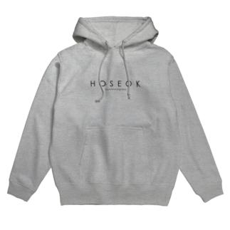 ホソク/タイポグラフィーG1 Hoodies