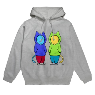パーカーを着た猫 Hoodies