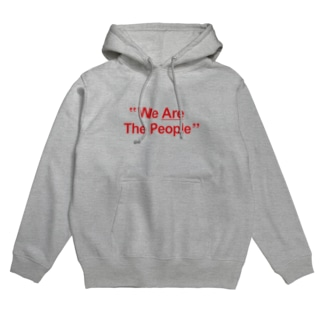 """stereovisionの""""We Are The People"""" Hoodies"""