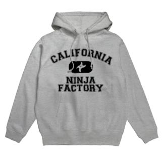 California Ninja Factory Hoodies