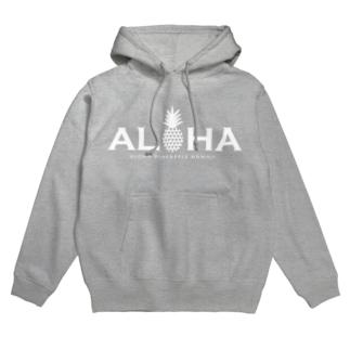 alohaパイナップル04(heart) Hoodies