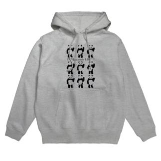 9パンダ Hoodies