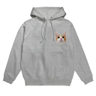 アイプチ猫みたらしカラー -壱- Hoodies