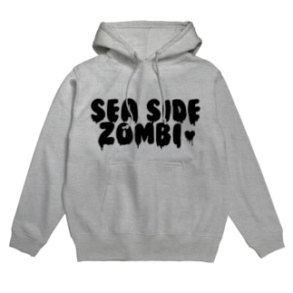 SEA SIDE ZOMBIE Hoodies