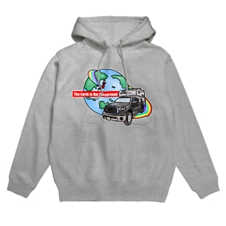 The Earth Is Our Playground  Hoodies