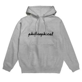 FUN TIMES POSITIVE VIBES。 のPHILOSOPHICAL Hoodies