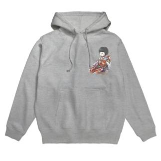 市松人形 聖(ひじり) Hoodies
