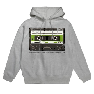 """""""Analog is Real"""" CASSETTE TAPE Hoodies"""