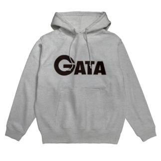 GATAロゴ【黒】 Hoodies