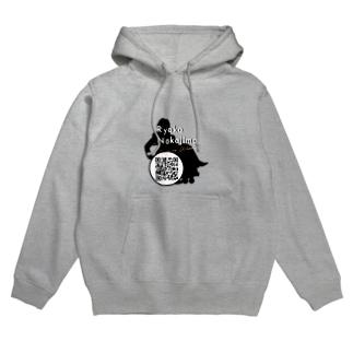 Logo w/ QR code Hoodies