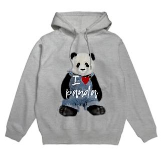 I♥Panda Hoodies