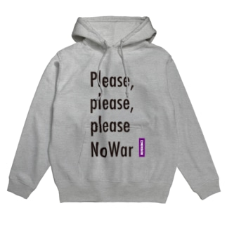 [REFERENCE] Please No War Hoodies
