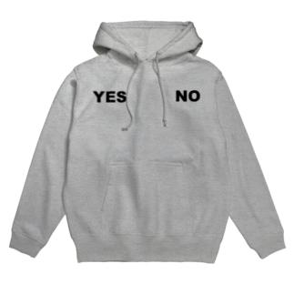 YES・NO Hoodies