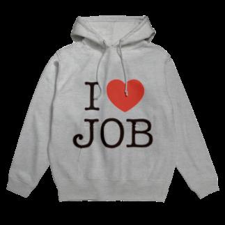 SQUID_INKのI LOVE JOB Hoodies